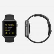 Apple Watch Sport - 38mm Space Gray Aluminum Case with Black Sport Band