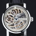 Benzinger Manual Winding Movement 3/4-Skeleton Rose Engine
