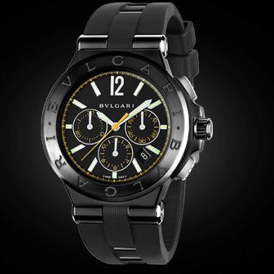 the latest c11bb 1de6e Bulgari Diagono 102161 DG42BBSCVDCH/2 on DreamChrono Watch ...
