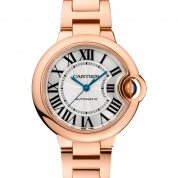 Cartier Ballon Bleu de Cartier Ladies Automatic Pink Gold 33 MM