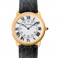 Cartier Ronde Solo de Cartier Large Model Quartz Yellow Gold & Steel