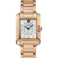 Cartier Tank Ladies Anglaise Quartz Small Model Pink Gold