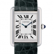 Cartier Tank Solo Ladies Quartz Small Model Steel