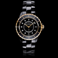 Chanel J12 Black Pink Gold and Diamonds