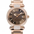 Chopard Imperiale 36 MM Watch 18-Carat Rose Gold, Amethysts & Diamonds