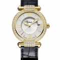 Chopard Imperiale 36 MM Watch 18-Carat Yellow Gold, Amethysts & Diamonds