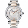 Chopard Imperiale 40 MM Watch 18-Carat Rose Gold, Stainless Steel, Amethyst & Diamonds