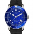 Christopher Ward Casual/Sport Ladies W61 Trident Pro Automatic - 38MM Blue Bezel