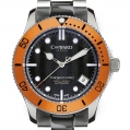 Christopher Ward Casual/Sport Ladies W61 Trident Pro Automatic - 38MM Orange Bezel