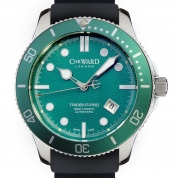 Christopher Ward Trident Collection C61 Trident Pro Green