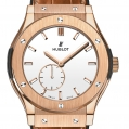 Hublot Classic Fusion Classico Ultra-thin King Gold White Shiny Dial 45MM