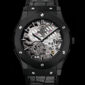 Hublot Classic Fusion Classico Ultra-thin Skeleton All Black 45MM