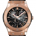 Hublot Classic Fusion Classico Ultra-thin Skeleton King Gold 45MM