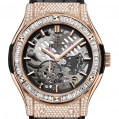 Hublot Classic Fusion Classico Ultra-thin Skeleton King Gold Jewellery 45MM