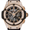 Hublot King Power Unico King Gold Pavé