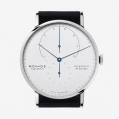 Nomos Glasshutte Lambda Weissgold with Blue Hands