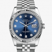 Rolex Datejust Oyster, 36 mm, steel and white gold