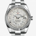 Rolex Sky-Dweller Oyster, 42 MM, White gold