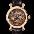 Speake Marin Cabinet Des Mysteres Fine Art Born Watch 42 mm Red Gold Case