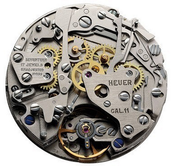 "Chronograph - Calibre 11 Movement ""Chronomatic"""