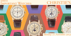 Christie's Important Watches Auction