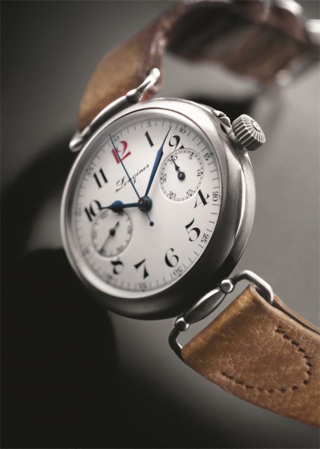 1913 Longines First Chronograph Wristwatch