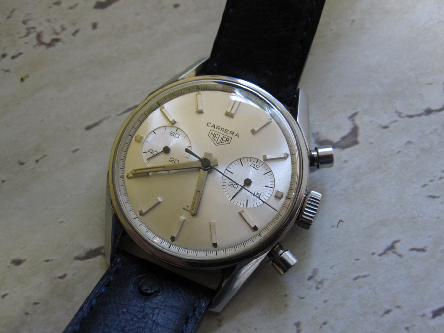 Collecting Watches - Heuer - 1964 Carrera