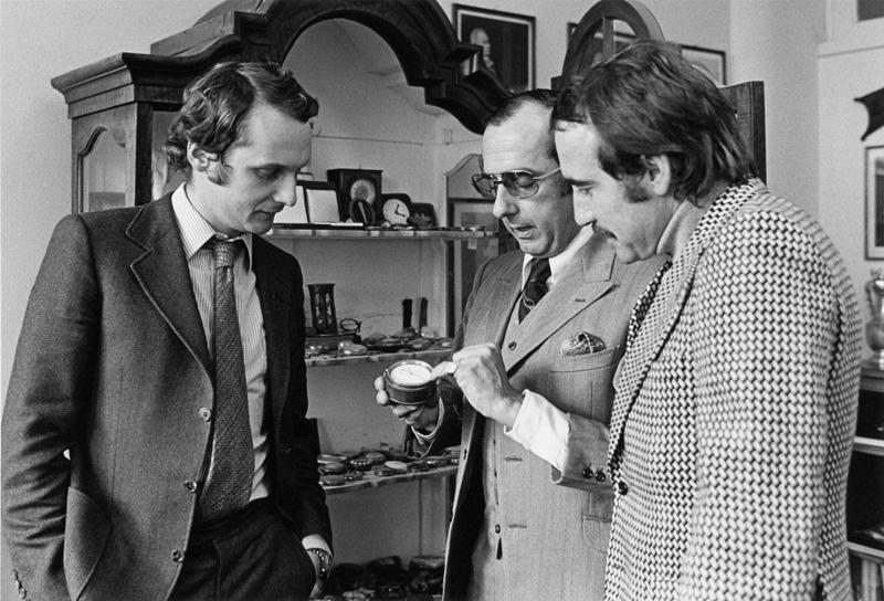 Niki Lauda and Jack Heuer