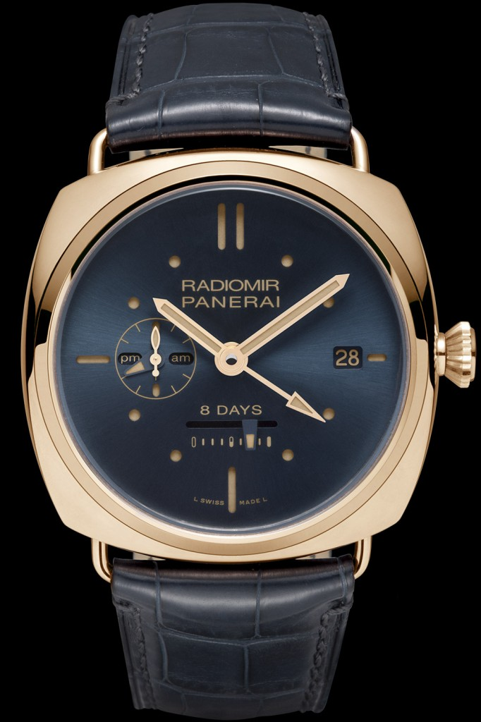 Panerai Radiomir 8 Days GMT - Face