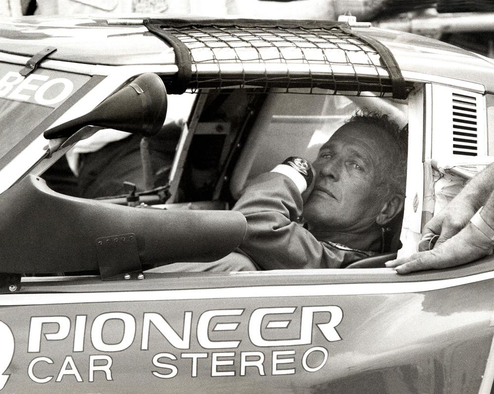 Paul Newman Wearing Rolex Daytona