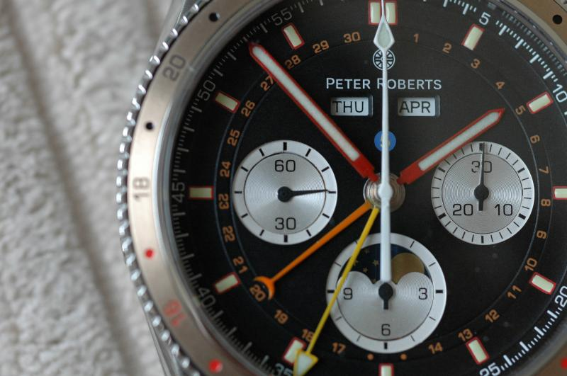 Peter Roberts Concentrique - Watch Face