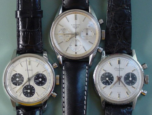 Poor Man's Heuers - Carrera (OnTheDash Picture)