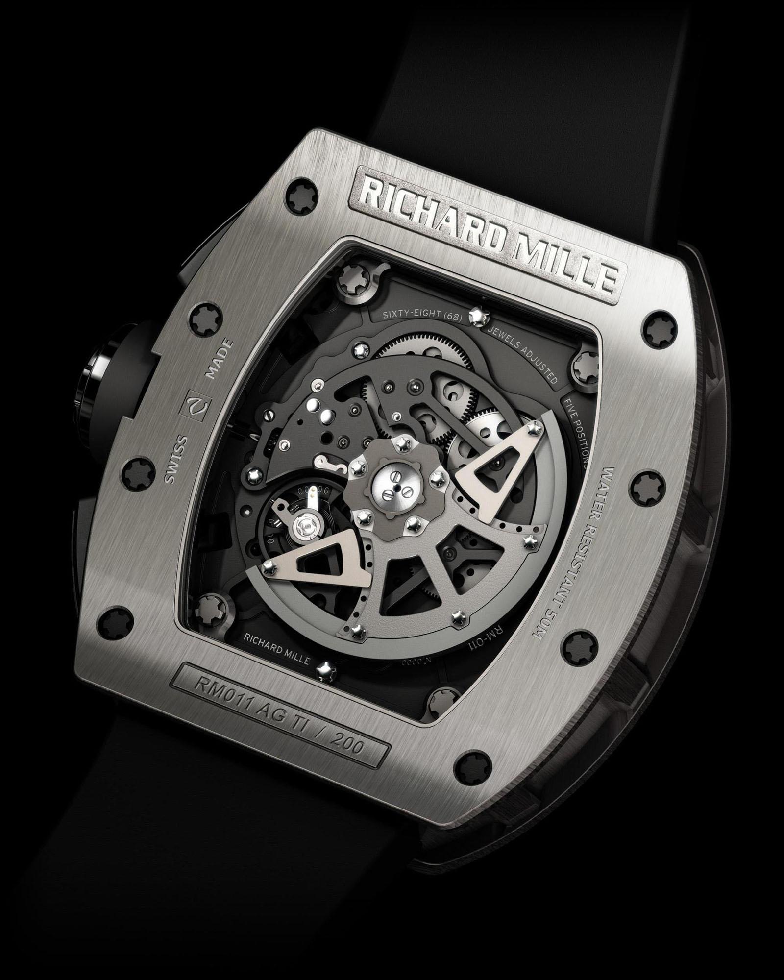 Richard Mille RM011 - Back
