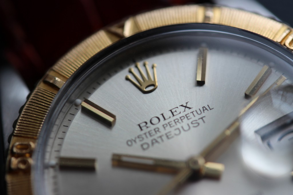 Rolex Turn-O-Graph Thunderbird - Face