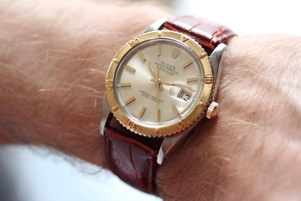 Rolex Turn-O-Graph Thunderbird - Wrist Shot