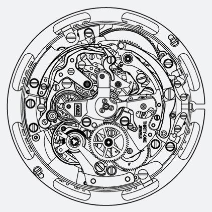 Zenith El Primero Lightweight - Mechanism