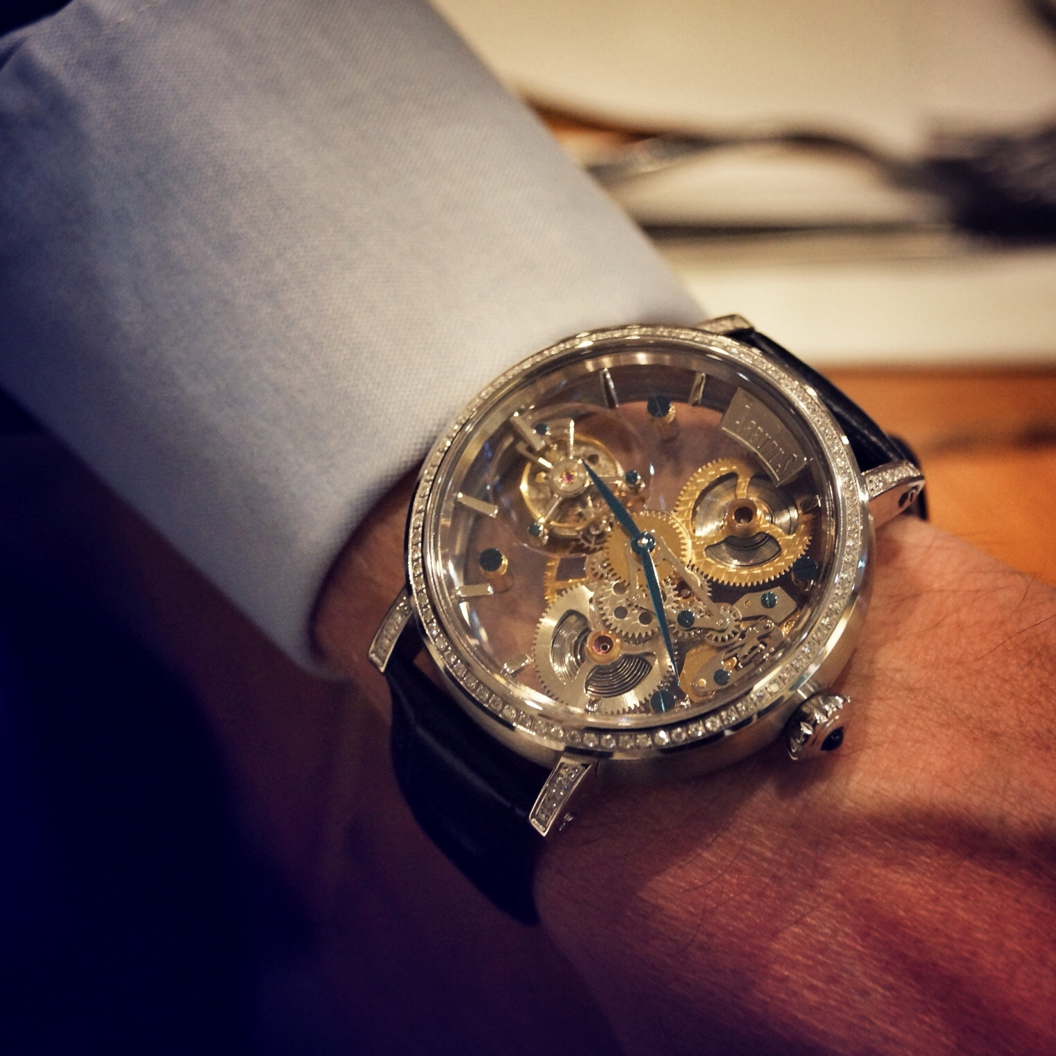 Tourbillon Watch - Arbutus (China Brand)