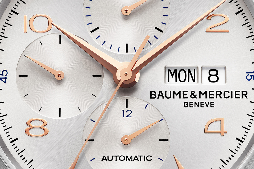 Baume & Mercier Clifton Chronograph - Dial