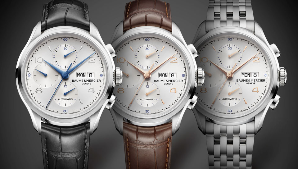 Baume & Mercier Clifton Chronograph - Variations