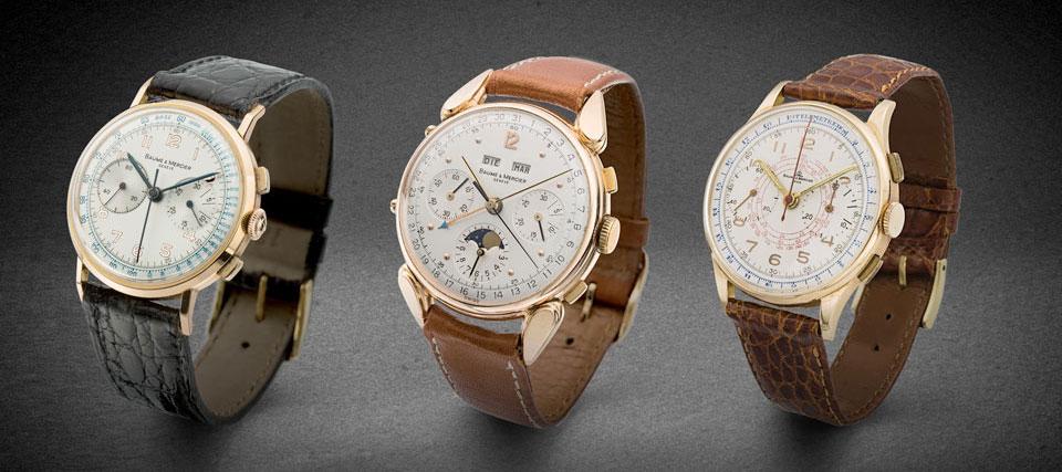 Baume & Mercier Vintage Chronographs