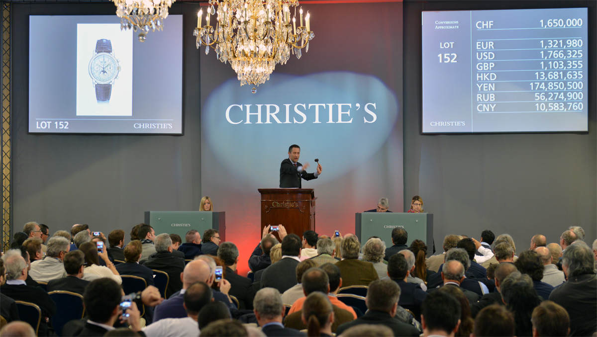 Christie's Important Watches Auctions - 11 November 2013
