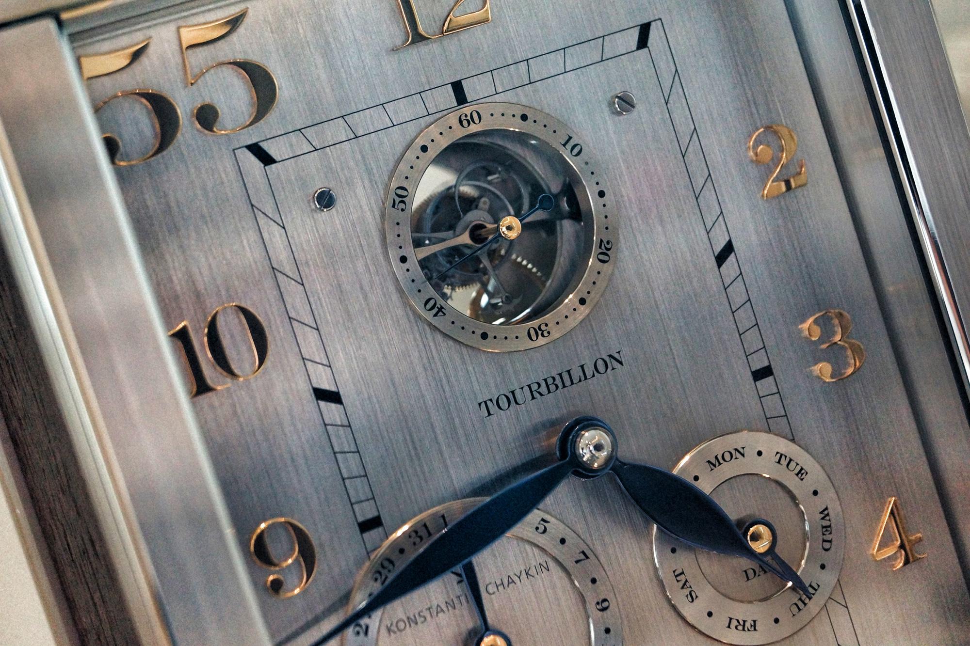 Konstantin Chaykin - Tourbillon 55 Clock