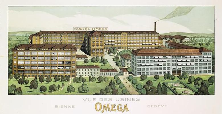 Omega Brand History