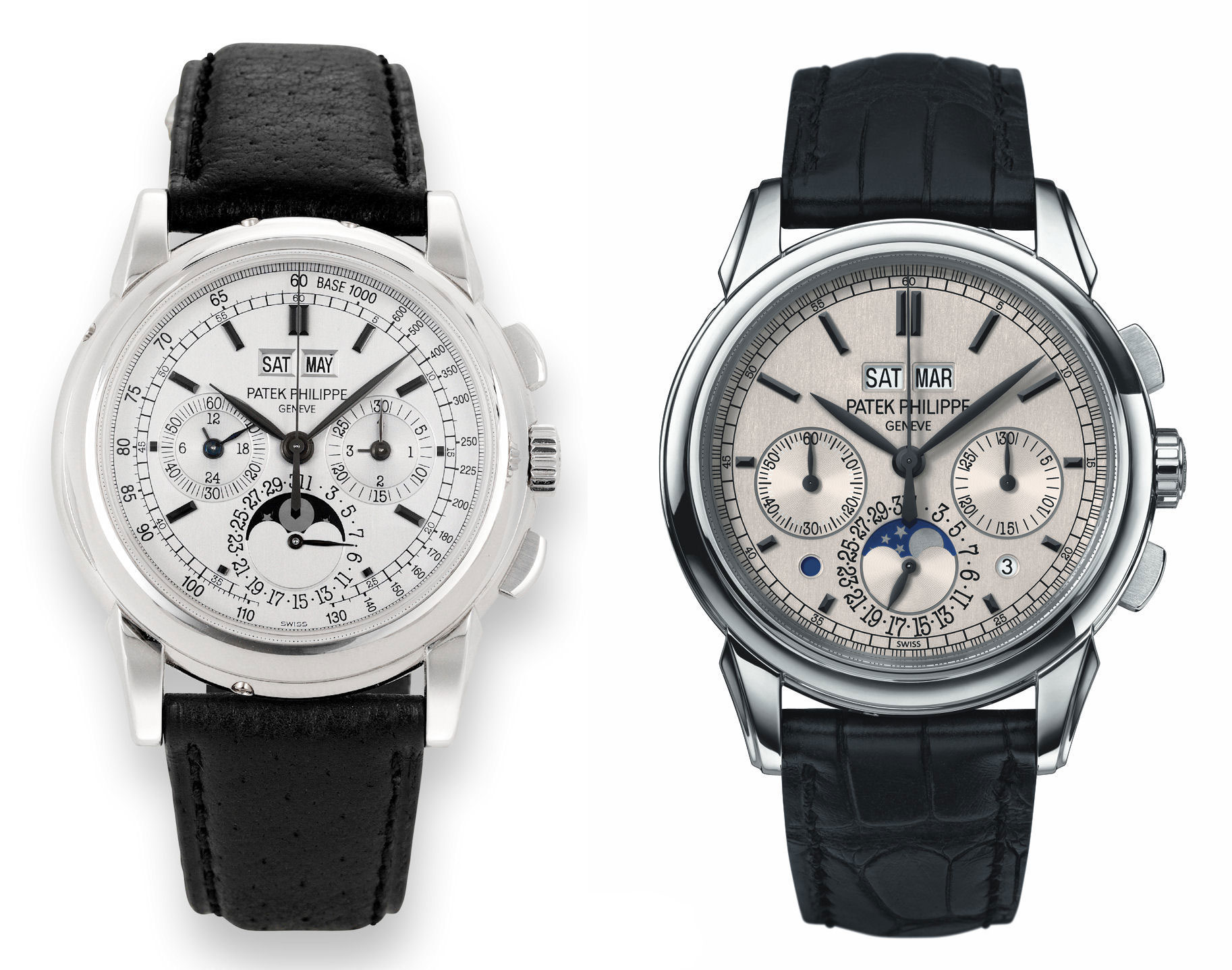 Patek Philippe 5970 and 5270