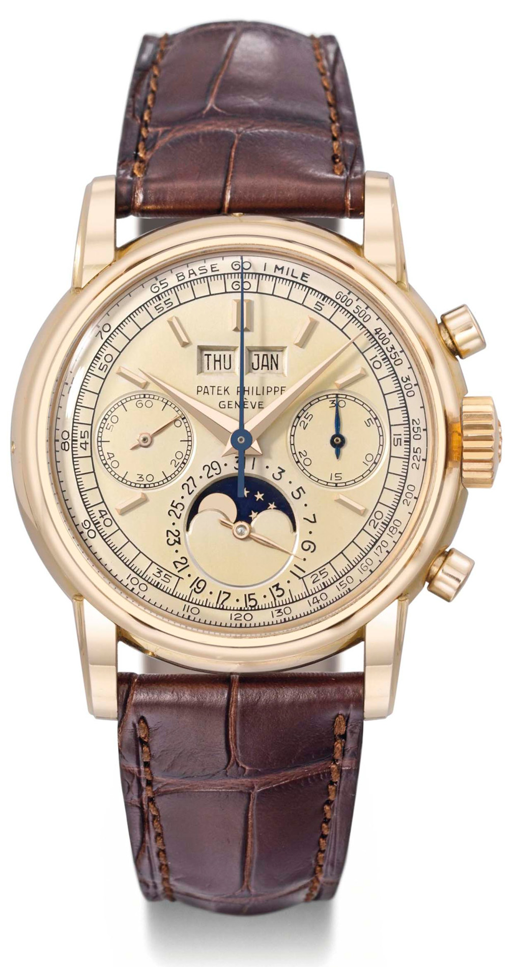 Patek Philippe Ref. 2499 from 1957