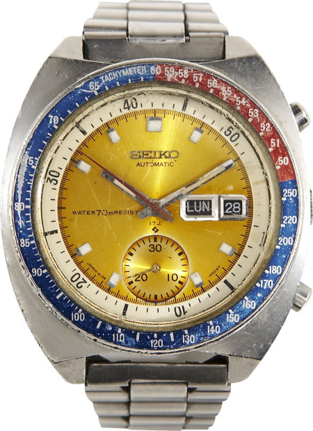 Seiko 6139 of Colonel Pogue ( Credits: © Heritage Auction )