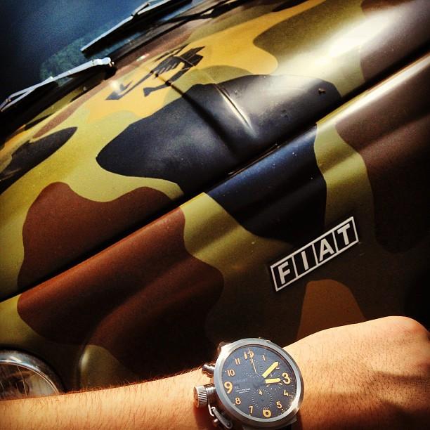 U-Boat Flightdeck 45 CAS 0 - Instagram Wrist Shot