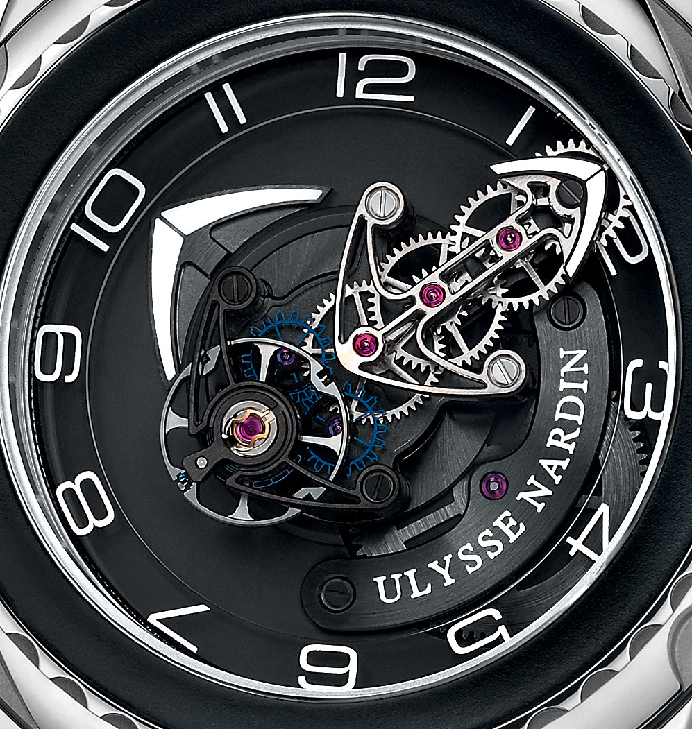 Ulysse Nardin Freak Cruiser - Dual Silicon Escapement