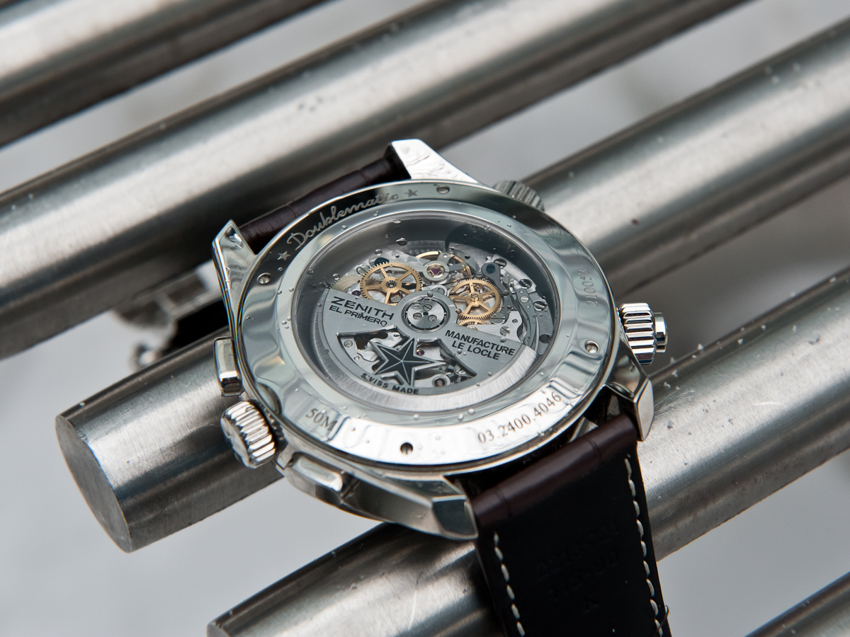 Zenith Pilot Doublematic - Movement
