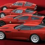 Alfa Romeo Zagato TZ3 Stradale 2011 (Side, Top and Quartet)